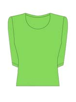 3/4 Sleeve Scoop Neck (15 colors)