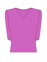 3/4 Sleeve V-Neck (30 colors)