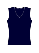 Sleeveless V (15 colors)